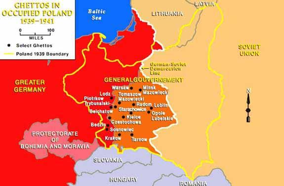 (Pomerania, Brandenburg, Saxony, Upper and Lower Silesia and Danzig) were annexed to the German Reich and the eastern districts were ceded to the Soviet Union.