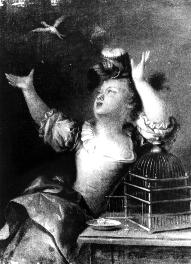 Fig. 5: Francois Eisen, Girl with a bird. Fig. 6: Francois Eisen, Boy with a Mousetrap. From the above, it is possible to draw conclusions regarding many other paintings as well.