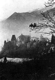 Fig. 1: Varallo, Sesia (aerial view), the Holy Mountain.