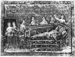 Fig. 3: Codex Virgilius Vaticanus. The death of Dido. Vatican Library.