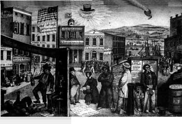 Martin Van Buren and Hard Times Two months after taking office, Van Buren faced the worst economic crisis of the nation s history. It was called the Panic of 1837. In 1837 the U.S.