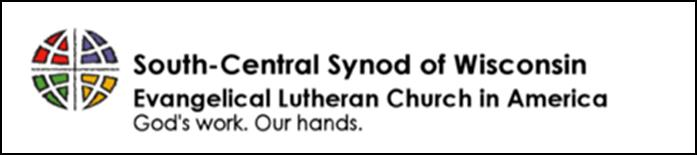 Support the Work of Your Synod in the New Year! The synod offers an on line donation opportunity 24/7/365 through the synod website.