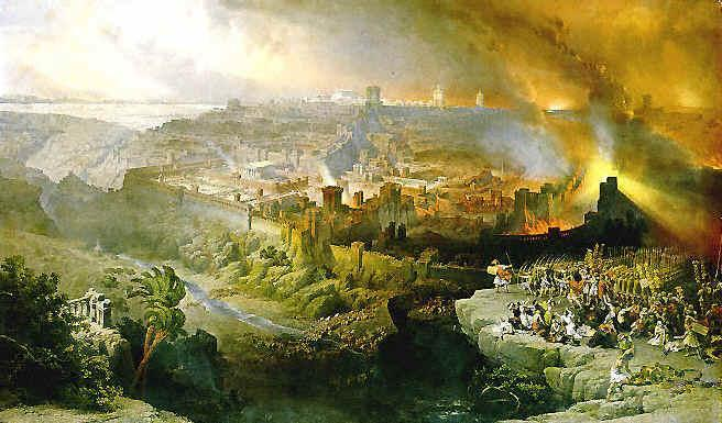 Judea goes into rebellion Jerusalem is