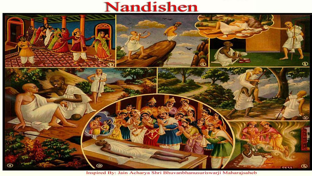 [20] NANDISHEN (Server of the Monks) (1) Nandishen was so ugly that not even one out of the seven daughters of his maternal Uncle agreed to marry him.