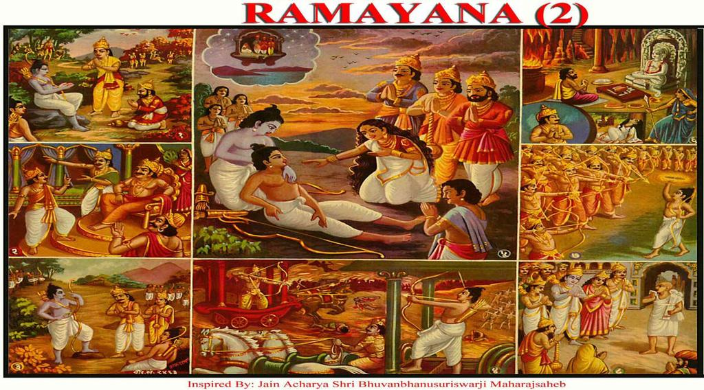 [26] RAMAYANA (2) (Ego and Effect of Penance) (1) Hanuman gave Sita s bangles to Ram. (2) Vibhishan was contempt by Indrajeet, when he requested the release of Sita.