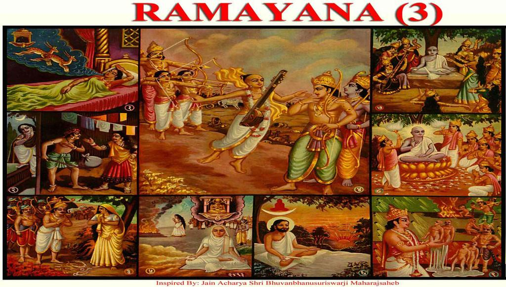 [29] RAMAYANA (3) (Greed for Fame -Detachment) (1) Sita dreamt of a 8-legged two deer s and thereafter she became pregnant.