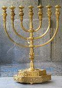 The Menorah, then, represents the church as the manifestation of Jesus Christ in the earth and the light of this present world, whether burning brightly or dimly.