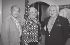 contributions toward building strong relationships between Japan and the United States, and for his tireless work educating this generation on Japanese American experience during WWII.