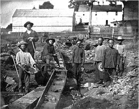 Gold Discovered in California 1849 - Discovery of gold in California Gold