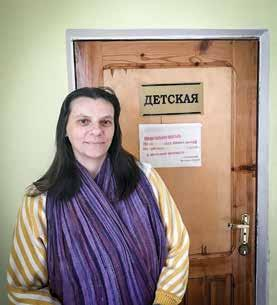 Sabbath-Loving Janitor KAZAKHSTAN October 14 Yelena Golubeva Adventist Mission Euro-Asia Division 6 Yelena has every reason to be distressed. She lost her job because of the Sabbath last year.
