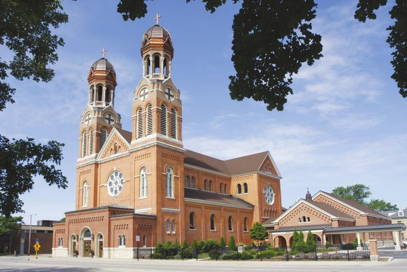 Saint Francis Xavier Cathedral Parish 139 South Madison Green Bay, WI 54301-4501 920-432-4348 Weekend Masses Saturday... 4:00 pm Sunday... 9:00 am Weekday Masses Monday, Wednesday, and Friday.