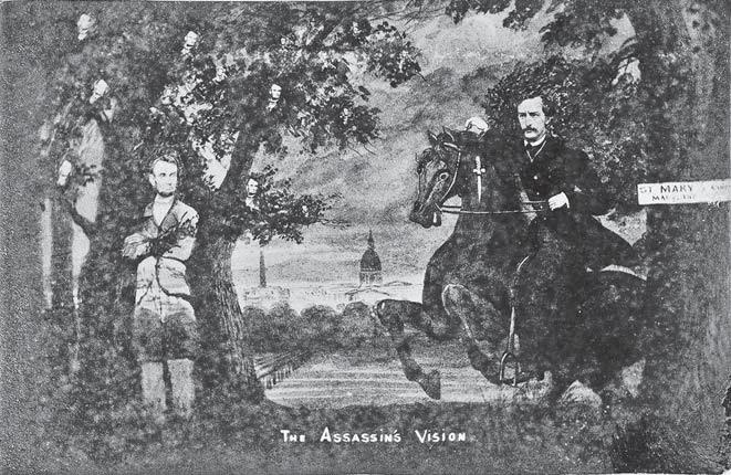 that vile rabble of human bloodhounds 201 The Assassin s Vision. Lincoln s ghost haunts the fleeing Booth.