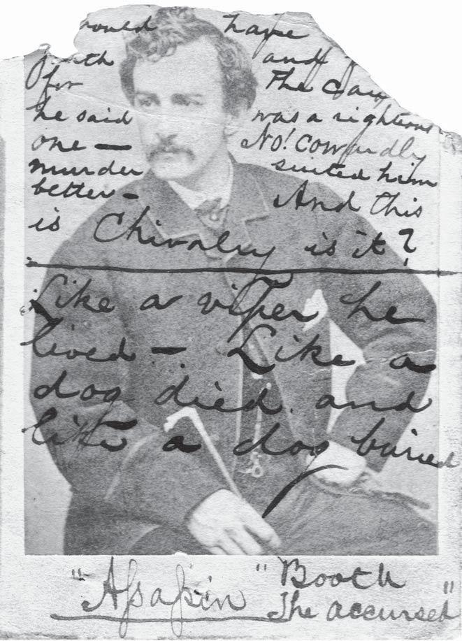 A photograph issued to one of the