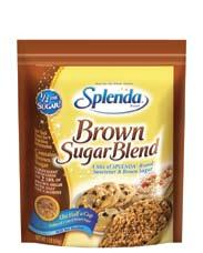 /2 the sugar. For sweet recipes of the season, go to www.splenda.com.