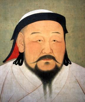 His grandson, Kublai Khan, fulfilled his desire and conquered northern China in 1264.
