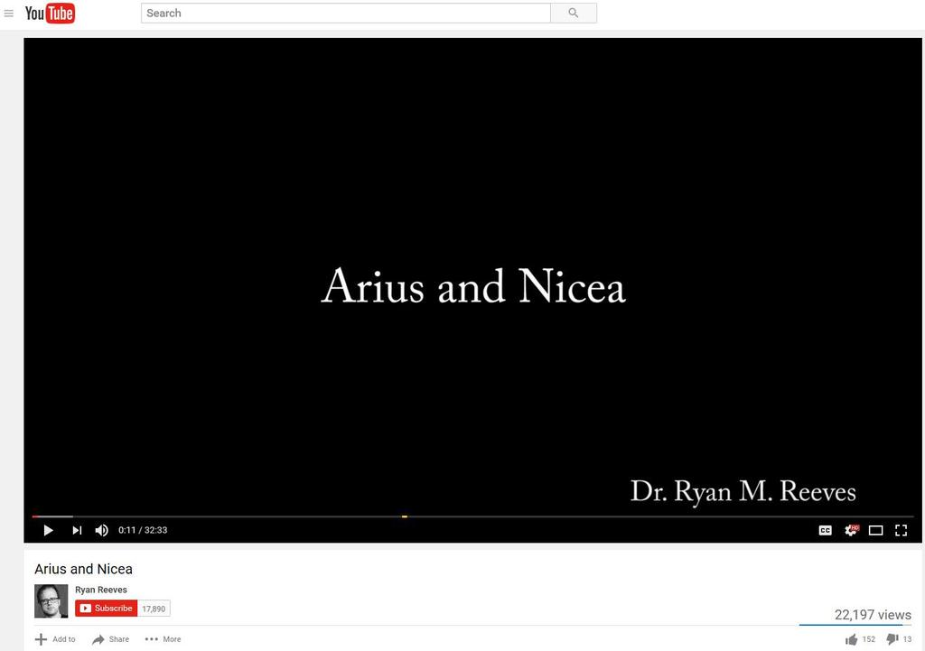 Arius and Nicea Contend