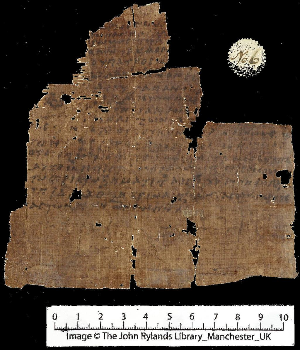 Oldest extant manuscript