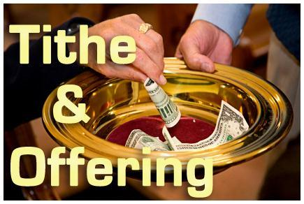 Brothers and Sisters, Prayer for Tithes and Offerings Now that the Lord has blessed us with His Word, it s time for us to bless the Lord by offering to Him the fruit of our labor.