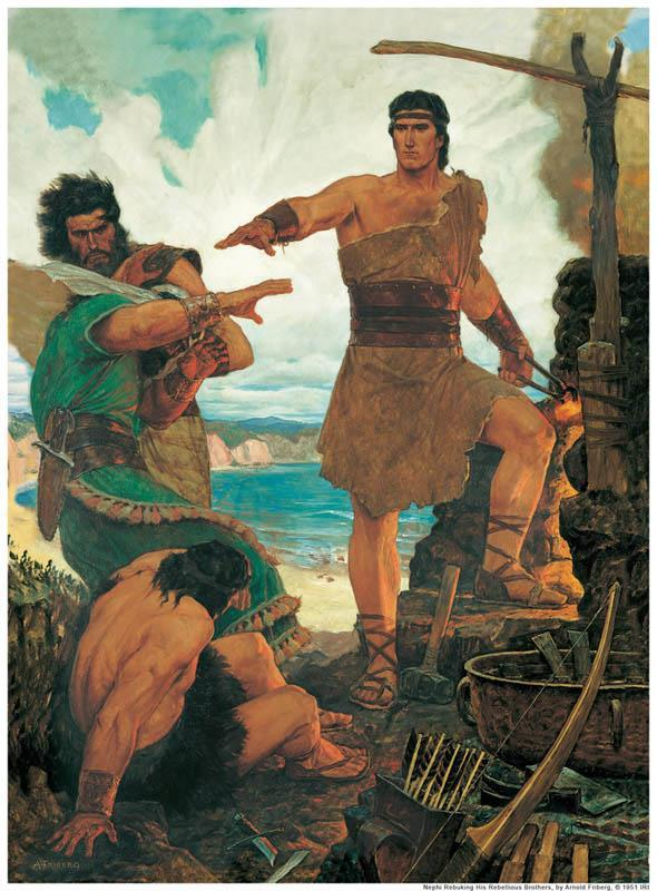 Laman and Lemuel on What They Know Sixteen times in the narrative about Nephi s attempt to get his reluctant brothers to help build the ship is the verb to know used.