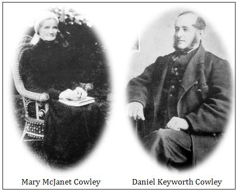 ca/) The Cowley clan in Canada really had its origins in 1844, when Capt. Daniel K.
