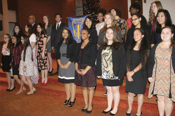 10 Students Join National Honor Society Ten new members five sophomores, three juniors and two seniors recently joined the National Honor Society (NHS), bringing the Blue Mountain Academy membership