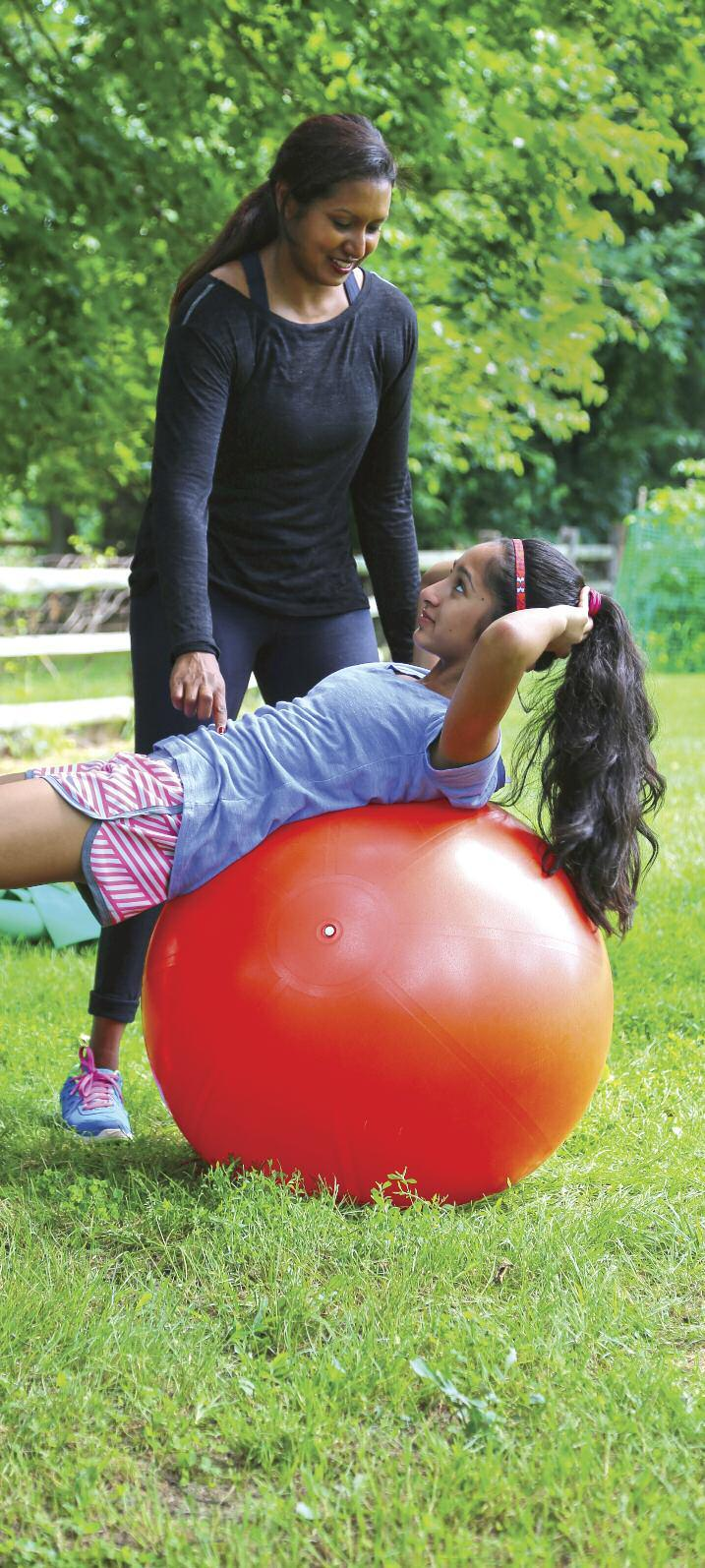 "Wilona Karimabadi uses her new certification as a personal trainer to help friends and family like her daughter, Mia get fit. Resolve in your mind that you can do it,"" she tells them."