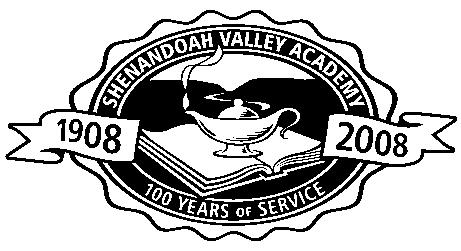 SHENANDOAH VALLEY ACADEMY HAPPENINGS AUGUST 2014 www.shenandoahvalleyacademy.