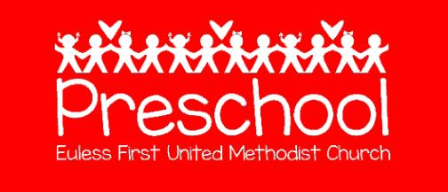 Euless First Preschool Angel News: Euless First United Methodist Preschool is excited to begin another year! We added a new toddler class last year, and are overjoyed to have it again this year.