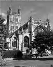An edited version of the Funeral Address given by Celia Thomson is published on the following two pages. A full copy can be obtained from Maureen Smith, Editor, Gloucester Cathedral News.