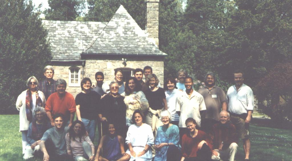 We have 36 segments planned and many of the people who will be on the program were grantees I met at The Lifebridge Foundation grantee gathering in August, 1999 (which I also videotaped) or are