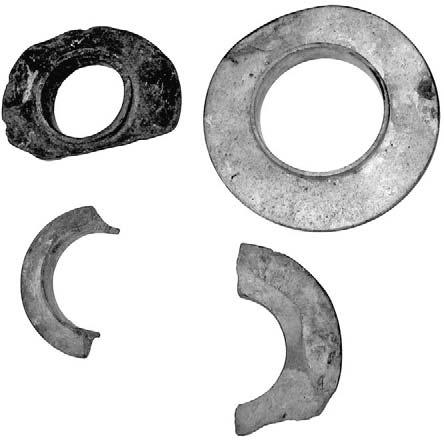 224 asian perspectives. 46(1). spring 2007 Fig. 13. Stone rings from Mayangon; complete ring 10.5 cm outer diameter, hole 6.0 cm.