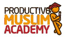 ABOUT PRODUCTIVE MUSLIM ACADEMY CLICK HERE TO JOIN PRODUCTIVE MUSLIM ACADEMY Productive Muslim Academy is an academy from ProductiveMuslim.