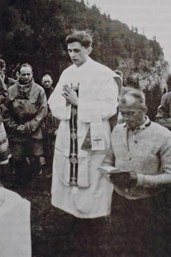 A PARADISE REGAINED 59 In the summer of 1952, the young priest Joseph