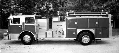 BRINDLEE MOUNTAIN FIRE APPARATUS LLC LOCATED 15 MINUTES SOUTH OF HUNTSVILLE! TOLL FREE 1-866-285-9305 1983 E-ONE ON A PEMFAB CHASSIS.