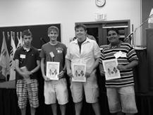 Awards Boys Nation Delegates Each year two Boys State citizens from Michigan are fortunate enough to be selected to be delegates to Boys Nation which occurs in the summer in Washington D.C.