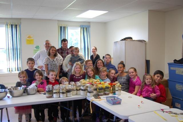 We were very grateful to all the parents who assisted with our jar making: Stephanie Canaham, Pam Ginder, Kari Roe, Rick Robertson, Adrienne Seymour and Liesel Burnham.
