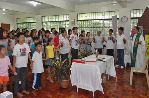 was started in 2004 with 12 children, and on August 24, 2014, Tahanan ng Mahal na Puso celebrated its 10 th anniversary.