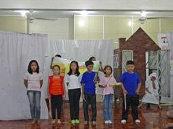 The program gave the children opportunity to show their talents and skills. Everyone was very confident about their presentation and they were very glad doing it.