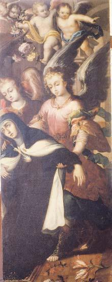 saint teresa of ávila s martyrdom 231 Figure 12. Juan Correa, Transverberation of St.