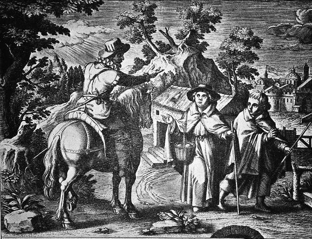 216 christhoper c. wilson Figure 2. Adriaen Collaert, St. Teresa and Her Brother Rodrigo on Their Way to the Land of the Moors, 1613. efforts to combat heresy and save souls.
