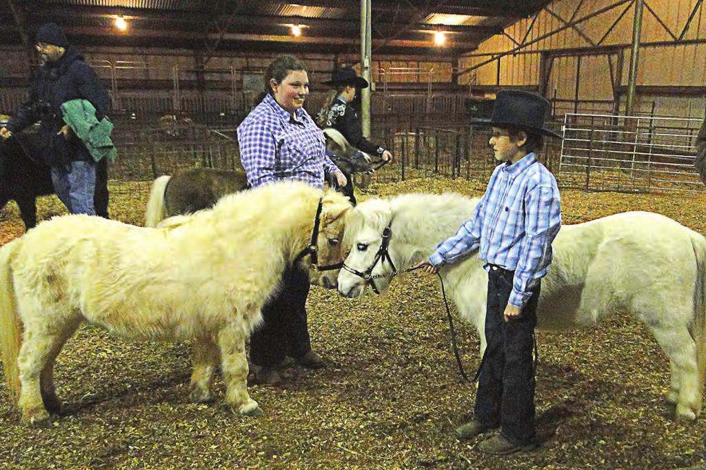 McMeens also won the Senior Showmanship Award for Breeding Beef Heifers. On Saturday, too, DeLeon ISD seventh-grader Slade Gooden s steer was judged the Reserve Grand Champion Market Steer.