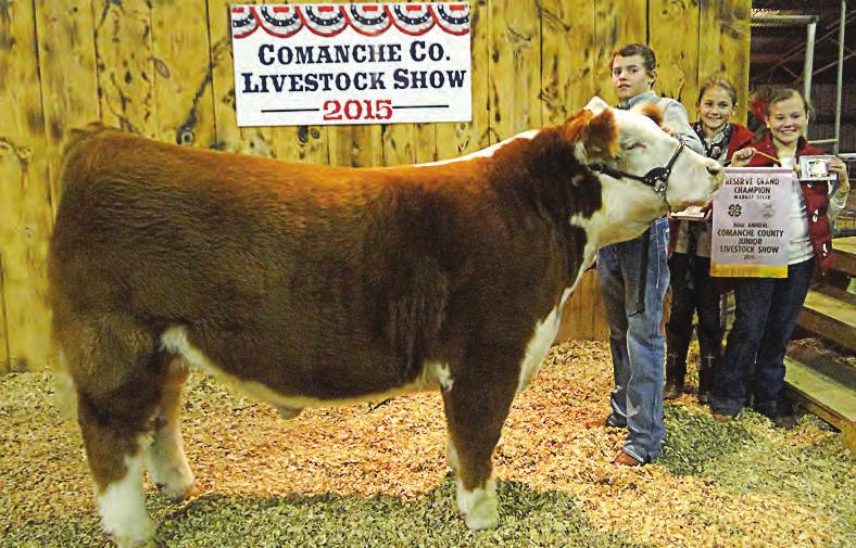 Grand Champion - Hope McGinnis, Comanche ; Junior Showmanship - Hope McGinnis, Comanche ; Senior Showmanship - See Results page DeLeon student shot in alleged break-in By JON AWBREY Publisher During