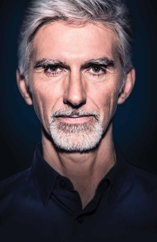 DAMON HILL WATCHING THE