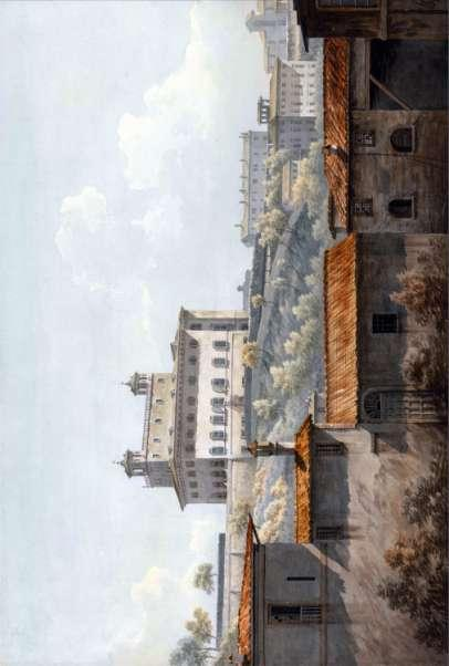 Travels in Italy The Villa Medici, Rome John Warwick Smith