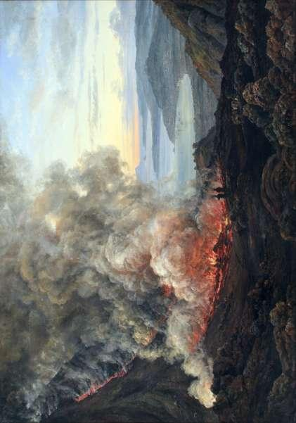 Travels in Italy Eruption of the Volcano Vesuvius, 1821