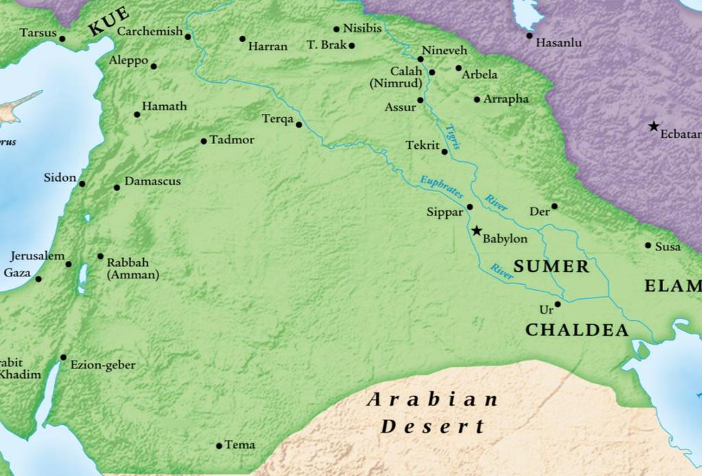 614 Nineveh attacked by Medes 612 Nineveh fell to Babylonian and Median forces With Egyptian support, the Assyrians established a new capital at Harran 609