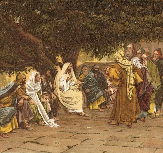 THE PHARISEES POWER AND PURITY The Pharisees and Sadducees come to tempt Jesus by J.-J. Tissot.
