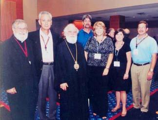 2010 Clergy Laity In Atlanta, GA His Eminence, Metropolitan Alexios with Fr.