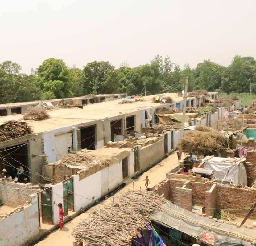 The Manovar Hassan resettlement colony, Shamli.