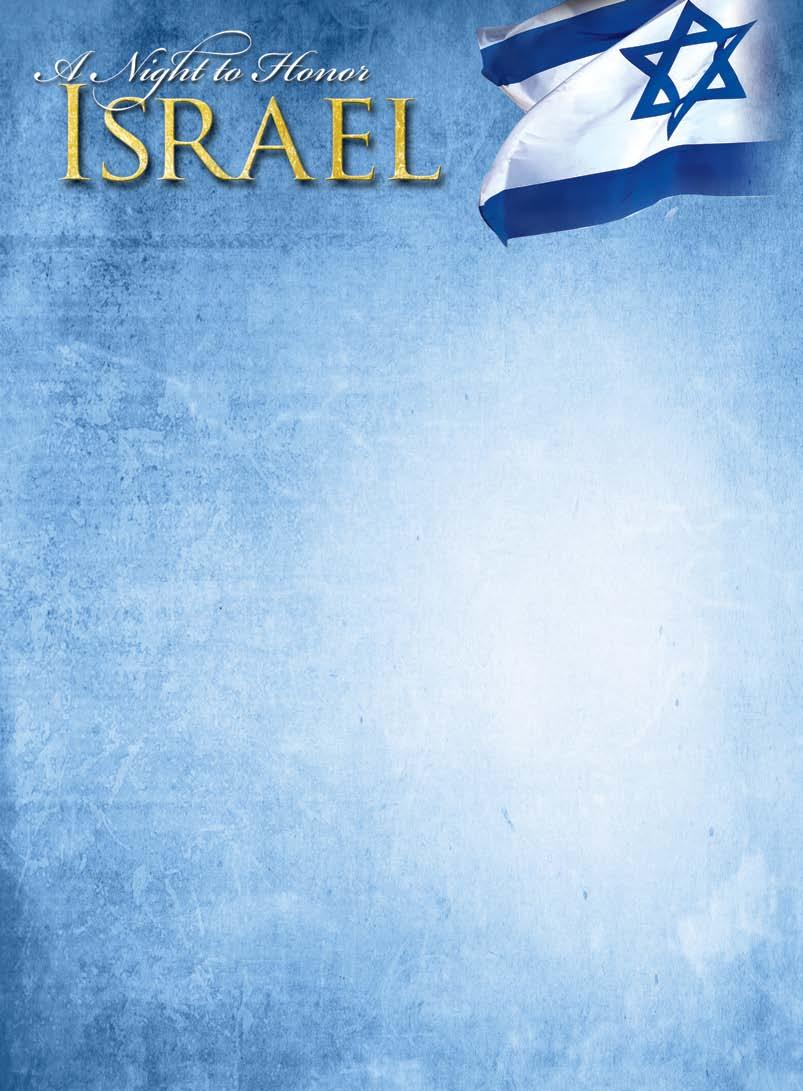 RECAP Cornerstone Church hosted the 33rd Annual Night to Honor Israel on October 26th.